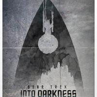 Star Trek Into Darkness A3 Poster