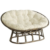 Double Papasan Chair Frame - Brown
