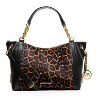 MICHAEL Michael Kors Large Stanthorpe Calf-Hair Satchel