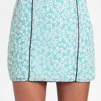 Covent Garden Printed Miniskirt By Lucca Couture