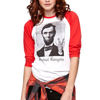 Riot Society Original Gangster Abe Raglan Tee at PacSun.com