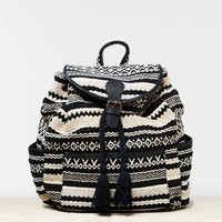 AEO BROCADE TASSEL BACKPACK