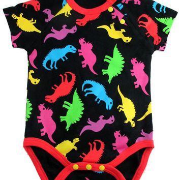 Okutani Dinosaur Onesuit Kids Clothing at Broken Cherry