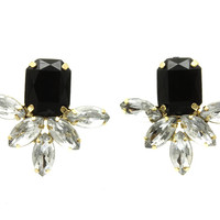 ONYX SPARKLE EARRINGS