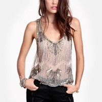 Golden Years Embellished Tank