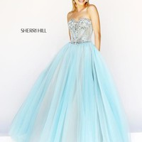 Sherri Hill Prom Dresses and Sherri Hill Dresses 21263 at Peaches Boutique