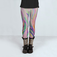 Grazioso in Pink by Lisa Argyropoulos (Leggings)
