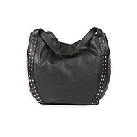 Kardashian Kollection Women's Studded Hobo Bag