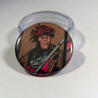"Comic Book 1.5"" Button// Gambit"