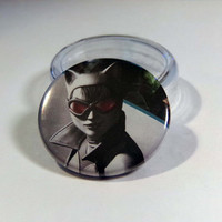"Comic Book 1.5"" Button// Arkham City// Catwoman"