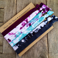 The Bordeux Headband Collection by Elastic Hair Bandz on Etsy