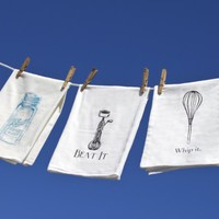 Kitchen Dish Towels by The Coin Laundry