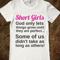 SHORT GIRLS T-SHIRT