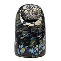 Iittala Toikka Sooty Owl Glass Bird