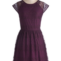 Wine and Chez Dress | Mod Retro Vintage Dresses | ModCloth.com