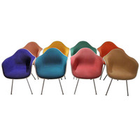 Charles Eames Shell Chairs (Set of 8)