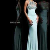 Sherri Hill Prom Dresses and Sherri Hill Dresses 21251 at Peaches Boutique