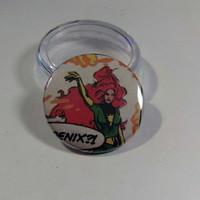 "Comic Book 1.5"" Button// Phoenix"