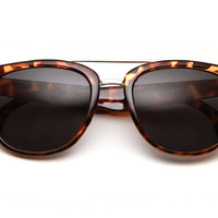 Charles Classic Mixed Metal Wayfarer Sunglasses 8368