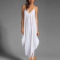 Indah Ivory All in One Jumpsuit in White