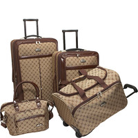 American Flyer AF Signature 4-Piece Luggage Set - eBags.com