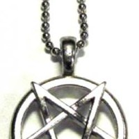 Pentagram Necklace - Metal