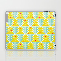 Festive - Trim A Tree Laptop & iPad Skin by Heather Dutton