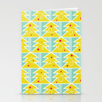 Festive - Trim A Tree Stationery Cards by Heather Dutton