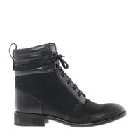 Bertie Pontos Worker Lace Up Ankle Boots