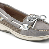 Women's Sparkle Suede Angelfish Boat Shoe