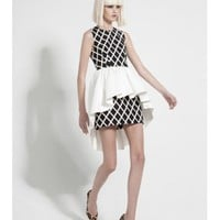 CAMEO Cathedral Dress DIAMOND/IVORY