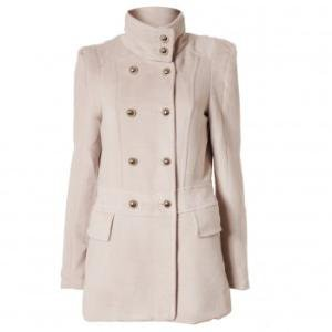 Yumi Funnel Neck Coat  | Jackets & Coats | Fashion | Oliver Bonas