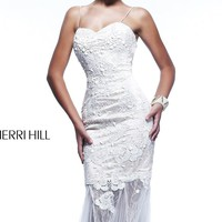 Long Sweetheart Gown by Sherri Hill