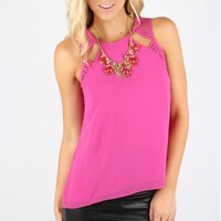 Bright Cut Out Tank