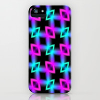 Neon Glow Light iPhone & iPod Case by Alice Gosling