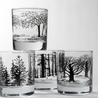 Black Tree Glasses from Snowden Flood | Made By Snowden Flood | £42.00 | BOUF