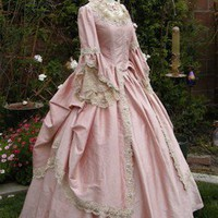 Marie Antoinette Fantasy Gown Your size/Color by RomanticThreads