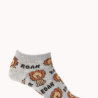 Lion Parade Ankle Socks