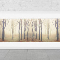 Poster Tree Photography Landscape Photography Enchanted Woodland Dreamy Nature Golden brown