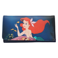 Disney The Little Mermaid Ariel Flower Wallet