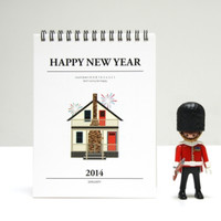 2014 The House Desk Calendar