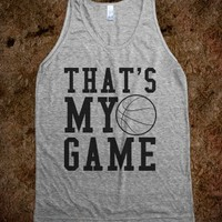 BASKETBALL - THAT'S MY GAME TANK