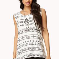 Everyday Tribal Print Top