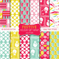 Festive Holiday Gift Wrap Collection | Flickr - Photo Sharing!