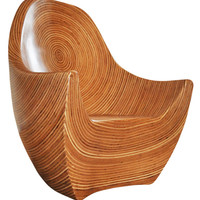 Magnificent and Unique Art, Sculptural Chair by designer Clayton Tugonon, Eco-Friendly Furniture