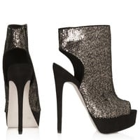ABSINTH STILETTO CUT OUT BOOTS