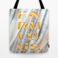 Fa-Bu-Lo-Us - JUSTART © Tote Bag by JUSTART