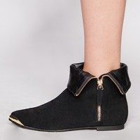Folded pixie booties [Rac8923] - $114.00 : Pixie Market, Fashion-Super-Market
