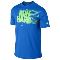 Nike Dri-FIT Cotton Graphic Running T-Shirt - Men's