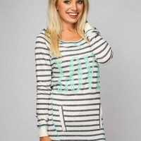 Striped Love Terry Fleece